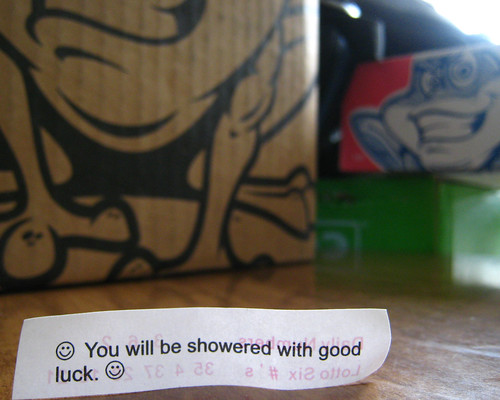 You Will Be Showered With Good Luck.