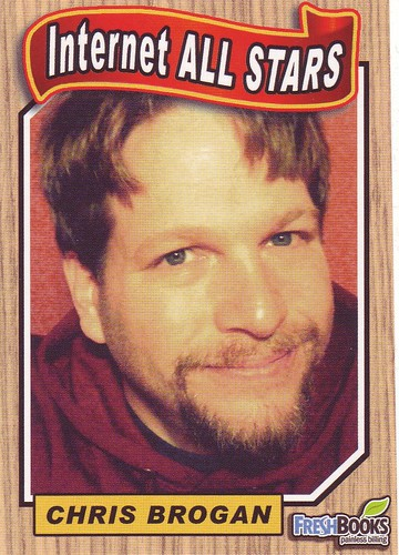 Chris Brogan collectors card front