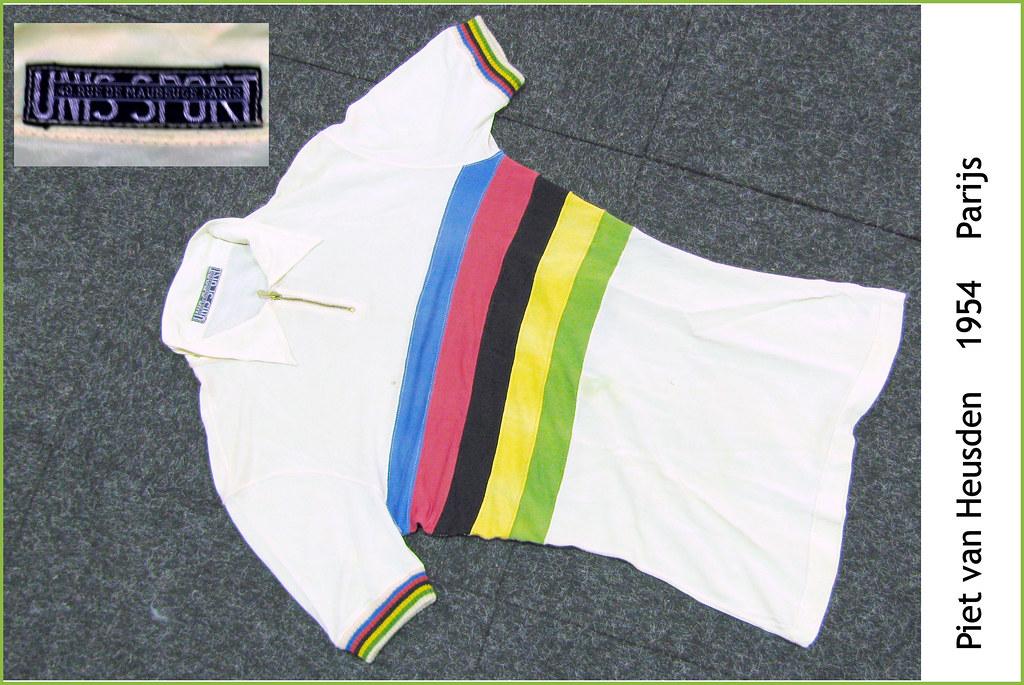 Shirt of the World Champion Pursuit 1952
