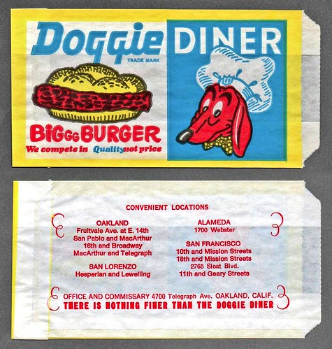 I totally took it for granted, now Doggie Diner gone.