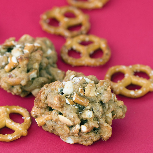 Peanut Apple Pretzel Drops