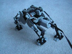 Walker Skeleton Video (aillery) Tags: motion video lego walker motor steampunk