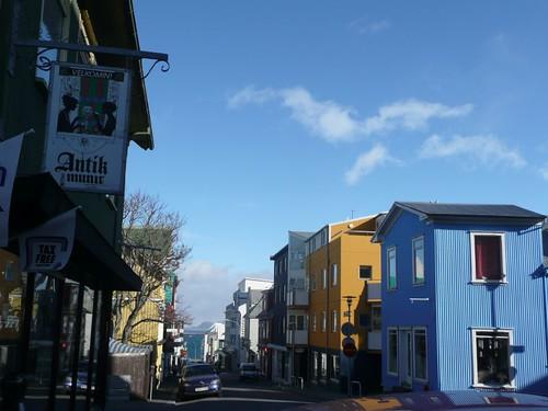 Iceland street scene