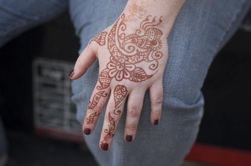 Mehndi Henna Hand Tattoos Pictures