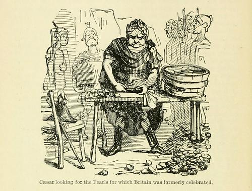 020-Cesar buscando las tan celebradas perlas de la Gran Bretaña