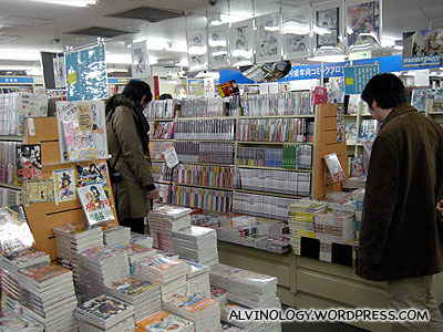 In Japan, its okay for adults to be manga addicts