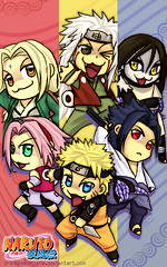 Naruto Chibis: The Next Generation (anime27fan [gone...]) Tags: legendary nextgeneration sakura naruto sasuke chibis jiraiya orochimaru tsunade sannins