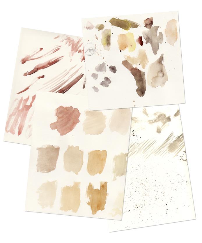 aquarell texturen