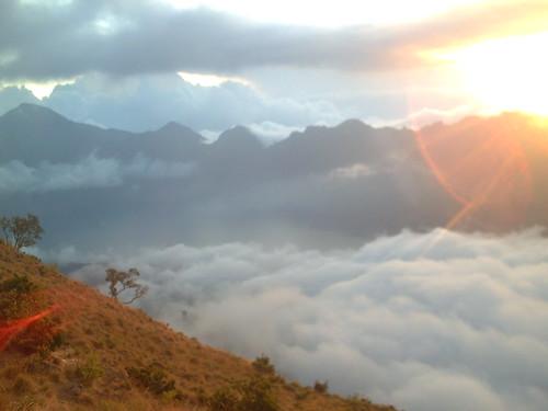 Puncak Gunung Rinjani 17 08 08 05:17WITA
