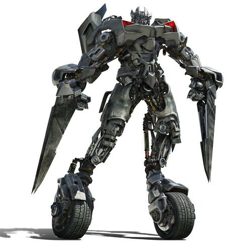 Autobot Sideswipe CGI 3D