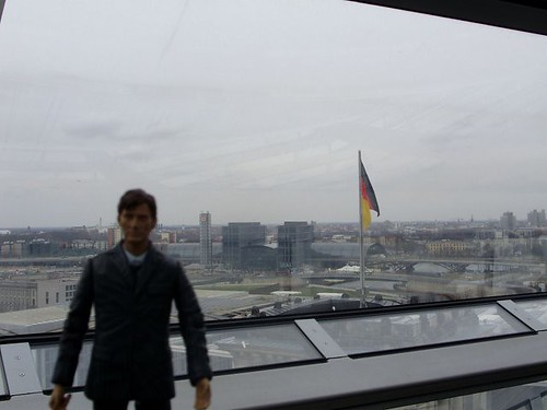 Even Mini David has to be tourist some times.