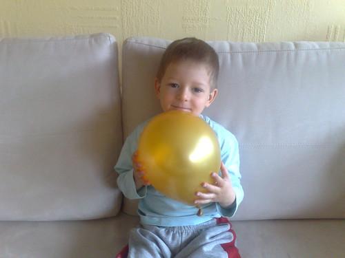 Mika wird 4 Jahre alt