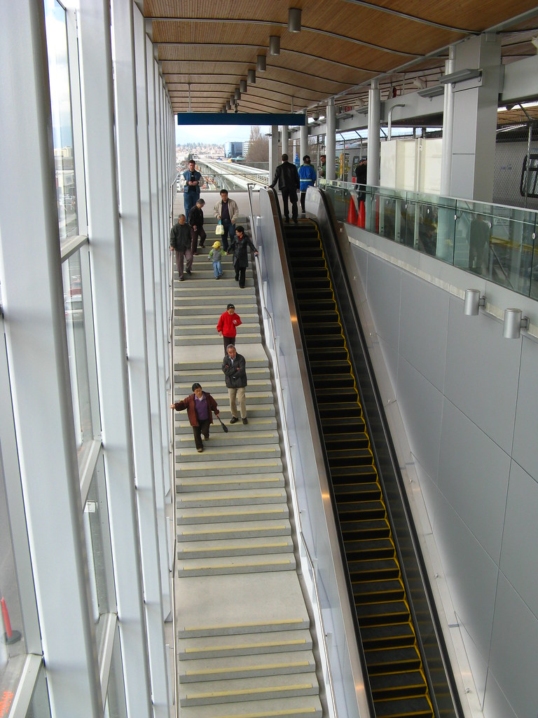 Lansdowne Outbound Staircase