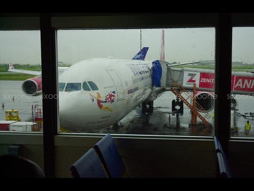 Virgin Atlantic at MM2 Lagos Airport