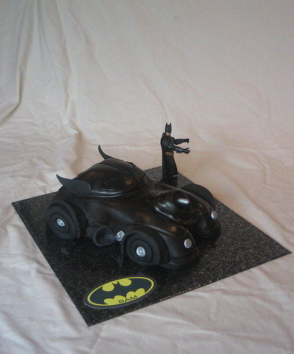 batmobile batman cake