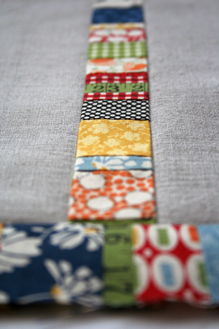 linen and patchwork