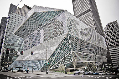 Seattle Public Library - HDR'ish