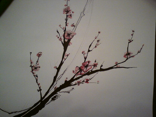 Phone upload test 2 - cherry blossom tattoo design