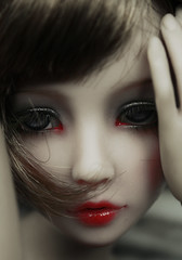 the other girl (Lolita*Pop) Tags: red doll lips bjd dollfie msd narae viridianhouse