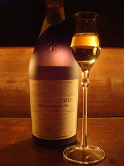 Hokkaido (Kat n Kim) Tags: glass japan bar table restaurant bottle sapporo hokkaido label fei tabletop italianrestaurant grappa spiritglass grappagranriserva
