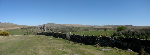 Vixen Tor and North Hessary (Dartmoor)