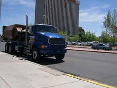 City of Albuquerque Amrep Roll Off 4 (wastemanagementdude) Tags: city trash truck albuquerque off roll amrep