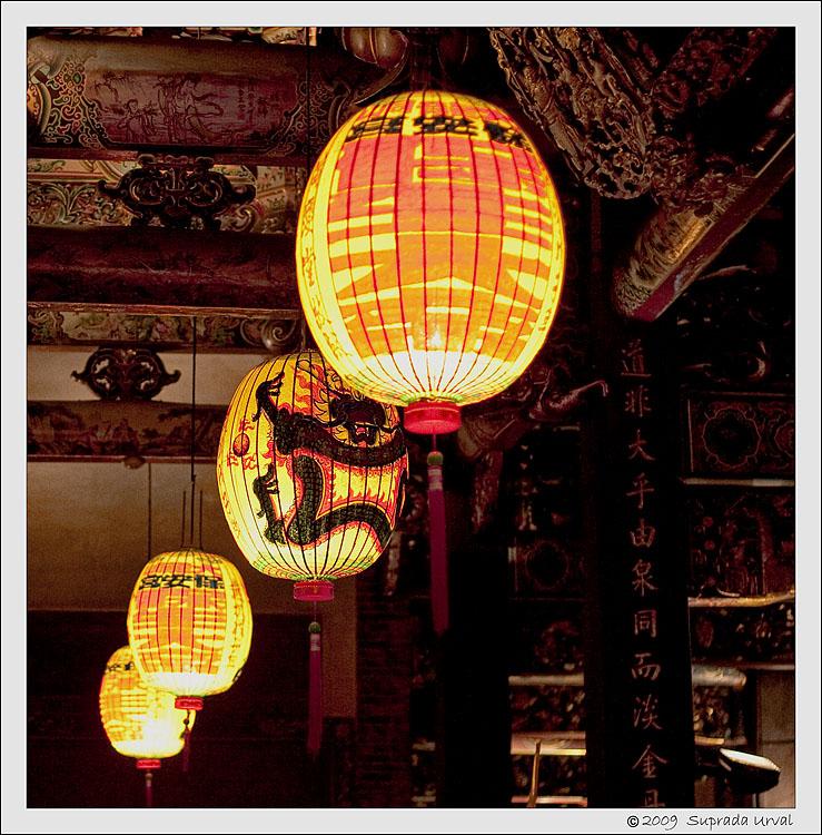 Bao-an Temple Lanterns
