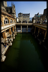 The Roman Baths at Bath and a bit of Bath