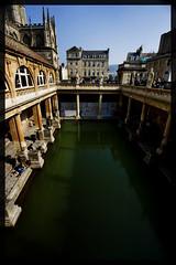 The Roman Baths at Bath and a bit of Bath