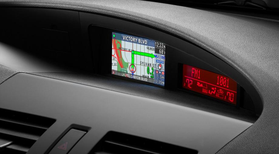 Compact navigation system MAZDA3 2010