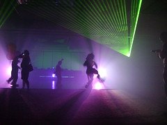 Lasers at the dance