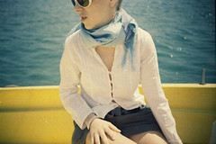 lomo_k100_36 (mariczka) Tags: blue friends light sea sun holiday film girl yellow analog scarf turkey geotagged iso100 glasses boat lomo lomography mediterranean side trkiye lomolca overexposed brightcolors vignetting borrowedcamera audel kodakprofoto100 vintageanalogue taniaoliynyk gulfofantalya lomoturkeyseries