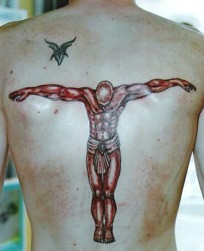 beckham style back tattoo