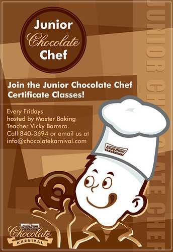 junior chocolate chef at krispy kreme