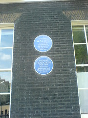Photo of Thomas Wakley blue plaque