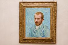 Friedrich Van Gogh (Jean Lemoine) Tags: portrait selfportrait paris museum photoshop wow fun gold autoportrait or joke vincent montage frame vangogh cadre frdric roux musedorsay incrustation 450d readhed mrpan