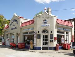 Jonesy's Standard Oil (Hammer51012) Tags: geotagged lafayette indiana gas tippecanoecounty sp570uz redcrownmuseum jonesysstandardstation
