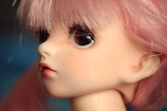 Mai so pink and pretty (fashiondollcrazy) Tags: doll dolls tiny bjd sis resin dz minimeet yosd dollzone