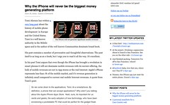 Why the iPhone will never be the biggest money generating platform « Alexander van Elsas's Weblog on new media & technologies and their effect on social behavior_1245607130744