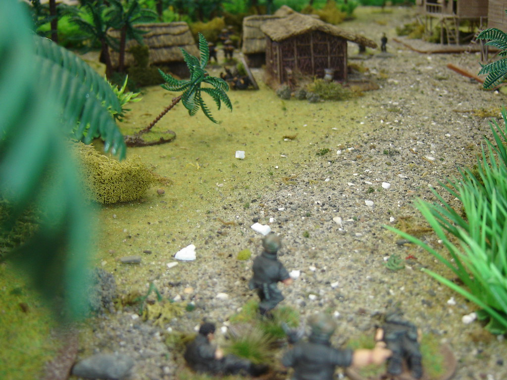2nd Squad advance on VC Command hut