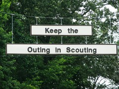 keep the outing in scouting