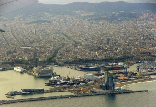 Aterrant a Barcelona / Landing at Barcelona by SBA73.