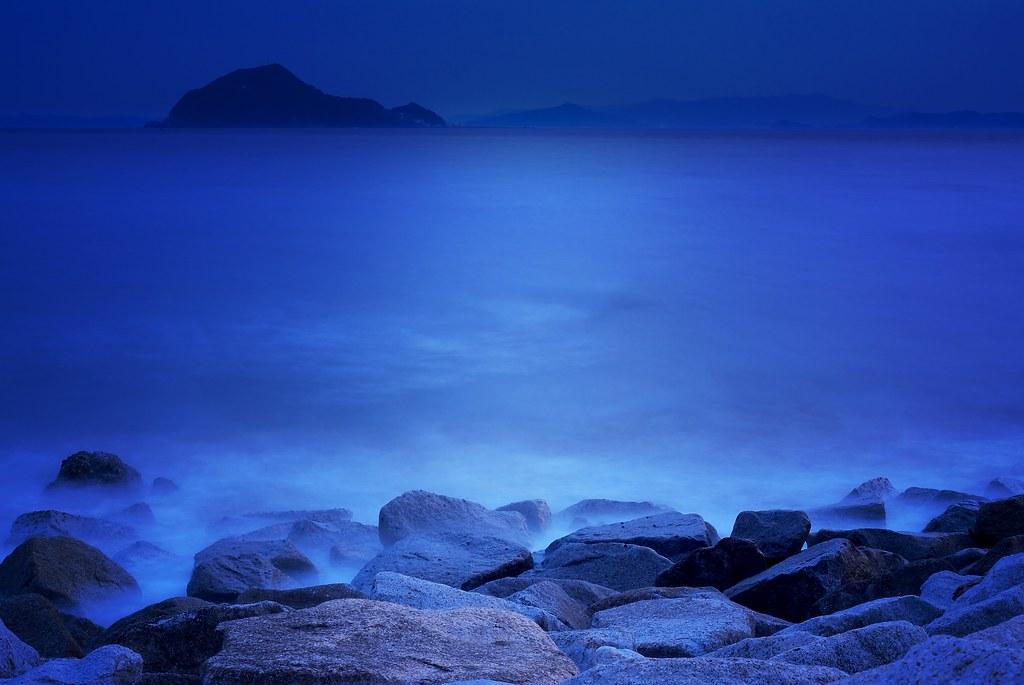 The blue straits