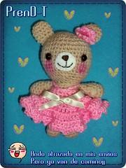 Preparando Swaps  (PrenD-T) Tags: bear pink cute oso handmade crochet kawaii amigurumi hechoamano prendt