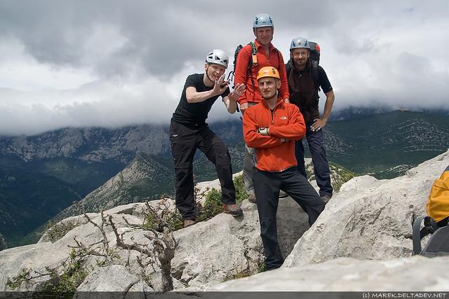 Na szczycie Anica Kuk - 712 m