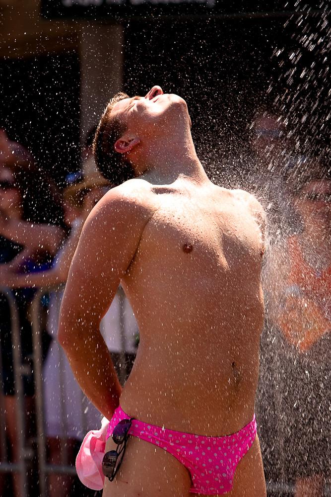 Lesbian amateur shower photo