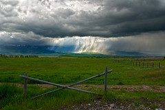 Driggs, Idaho - Squall and Sun Rays (Bill Wight CA) Tags: storm squall idaho sunrays driggs copyright2009 billwight licensinggettyimages