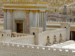 VIP view of the Holy Temple... (jglsongs) Tags: history museum israel model ancient view jerusalem   newcity yerushalayim ancienttemple  givatram israelmuseum shrineofthebook     66bc 66bce