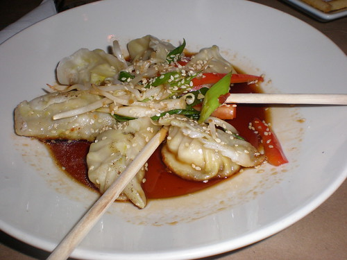 The Pan-Asian pot stickers