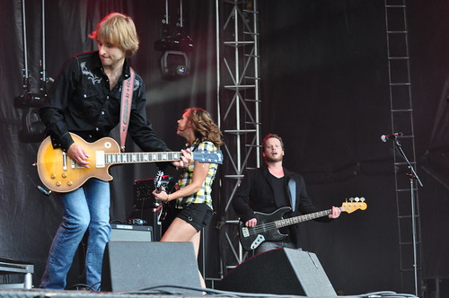 Amanda Rheaume at Ottawa Bluesfest 2009